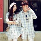 Plaid Couple Matching Shirt
