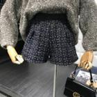 Tweed Wide Leg Shorts