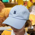 B Embroidered Baseball Cap