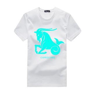 Horoscope Print Short-sleeve T-shirt