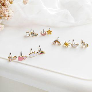 Unicorn / Rainbow / Heart / Moon & Star Earring (various Designs)