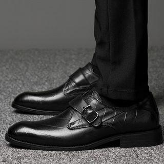 Embossed Oxfords