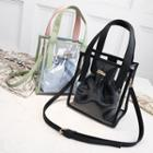 Transparent Handbag With Drawstring Bag