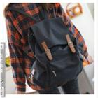 Flap Buckled Backpack