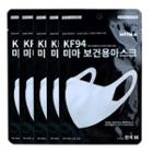 Hapi - Miima Kf94 Face Mask Medium (5 Pc) 5pc