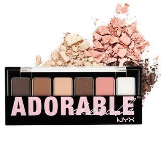 Nyx - The Adorable Eyeshadow Palette 1pc