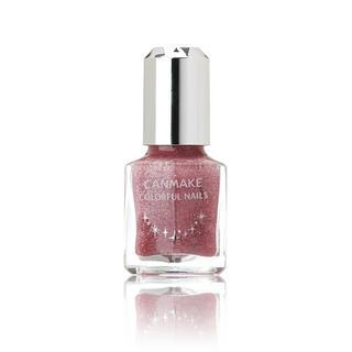 Canmake - Colorful Nails (#33 Pink Glitter) 1 Pc