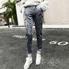 Stripe Cuff Harem Pants