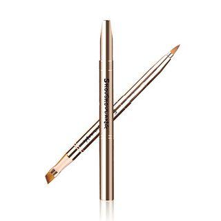 2 In 1 Dual Head Makeup Brush As Shown In Figure - One Size