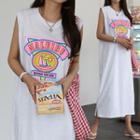 Malribu Print Maxi Tank Dress