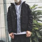 Mock Two Piece Padded Jacket