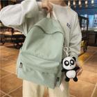 Panda Charm Nylon Backpack