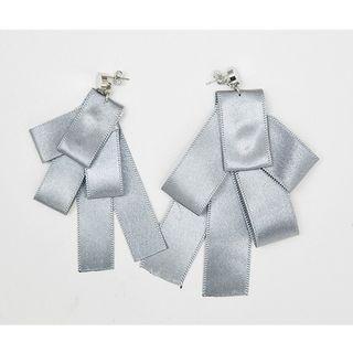 Non-matching Ribbon Earrings