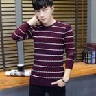 Stripe Melange Sweater