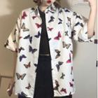 Butterfly Short-sleeve Shirt