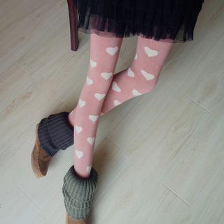Heart Stirrup Tights