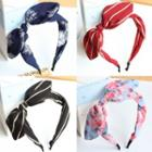 Bow Fabric Hair Band