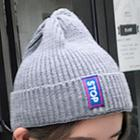 Patched Beanie