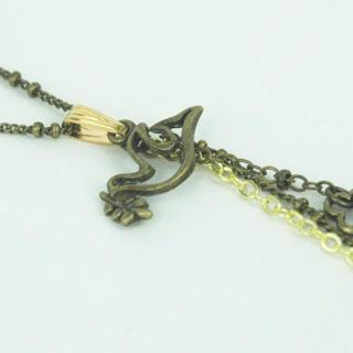 Little Pigeon Long Necklace One Size