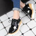 Star Wedge Oxfords