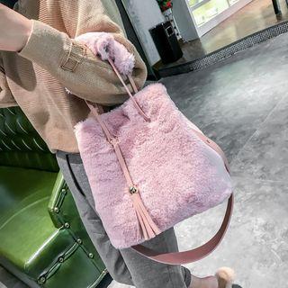 Furry Bucket Bag