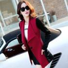 Single-button Trench Coat