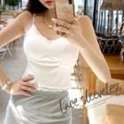Lace-edge Padded Camisole Top
