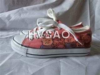 Piggy Canvas Sneakers