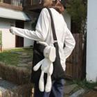 Canvas Rabbit Shoulder Bag