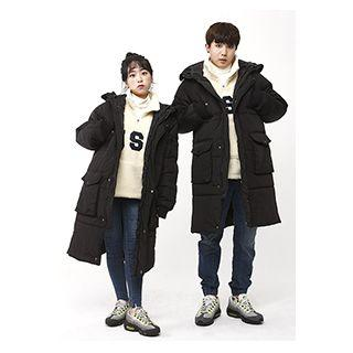 Couple Hooded Puffer Jacket