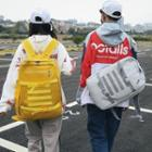 Couple Matching Buckled Lightweight Backpack