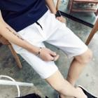 Drawstring Slim Fit Shorts
