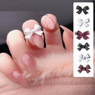 Matte Bow Nail Art Decoration