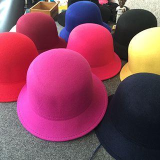 Plain Cloche Hat