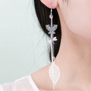 Dragonfly Butterfly Earrings
