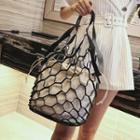Fishnet Bucket Bag