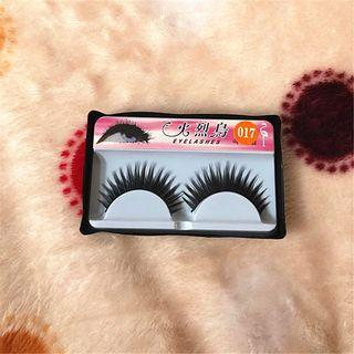 False Eyelashes #017 As Shown In Figure - One Size