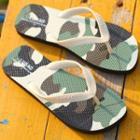 Camo Print Flip-flops