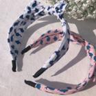 Pattern Bow Headband