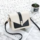 Embellished Twist-lock Crossbody Bag