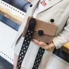 Studded Strap Shoulder Bag