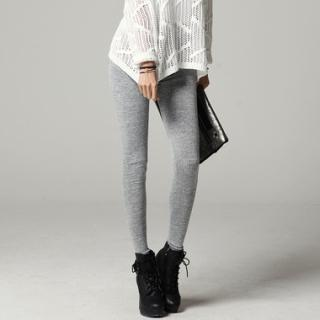 Drawstring-waist Leggings