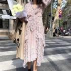 Floral Printed Chiffon Dress / Chiffon Top