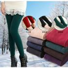Fleece-lined Tights / Stirrup Leggings / Leggings