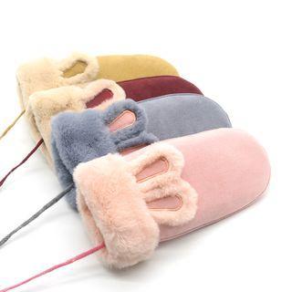 Rabbit Fleece-lined Mittens