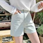 Pastel Tone Cotton Shorts