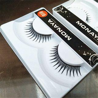 False Eyelashes #010 As Shown In Figure - One Size