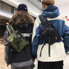 Buckled Lightweight Sling Bag