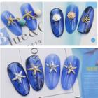 Scallop & Faux Pearl Nail Art Decoration (various Designs)