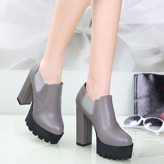 High-heel Shoe Boots